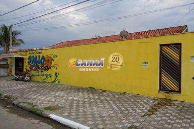 Casa com 3 dorms, Vila Vera Cruz, Mongaguá - R$ 220 mil, Cod: 4494