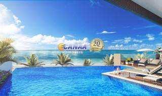 Apartamento com 2 dorms, Vila Nossa Senhora de Fátima, Mongaguá - R$ 312 mil, Cod: 7240