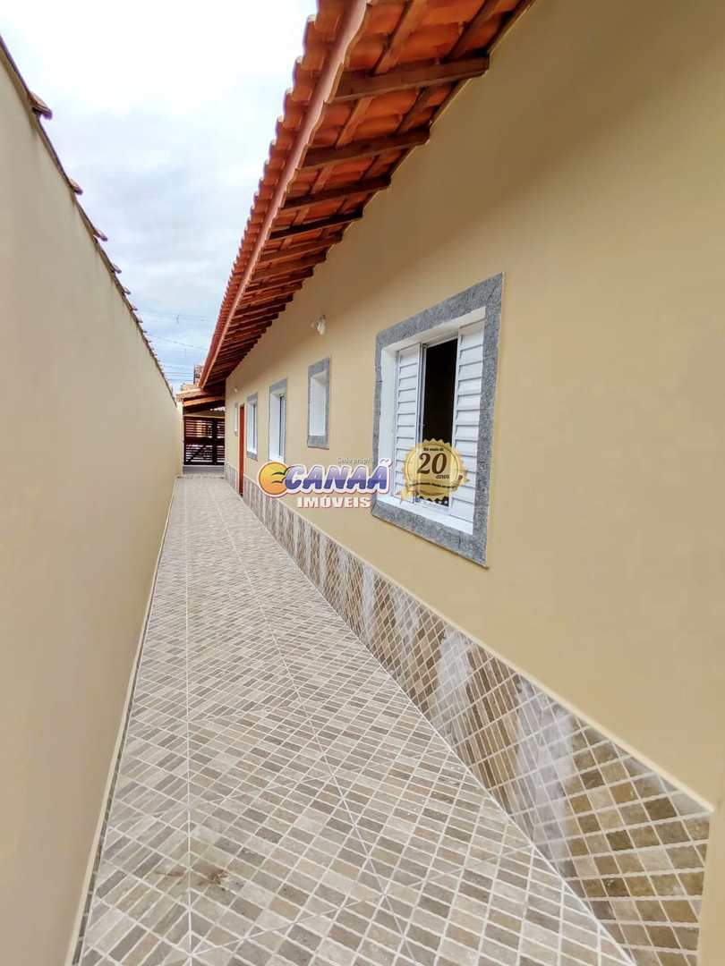 Casa com 2 dorms, Balneário Plataforma, Mongaguá - R$ 180 mil, Cod: 7341