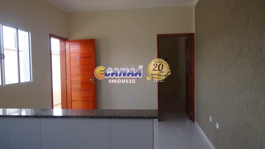 Casa com 2 dorms, Balneário Plataforma, Mongaguá - R$ 192 mil, Cod: 7341
