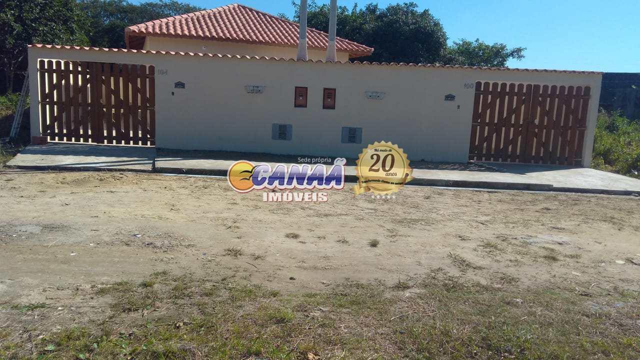 Casa com 1 dorm, Balneário das Palmeiras, Itanhaém - R$ 140 mil, Cod: 7386