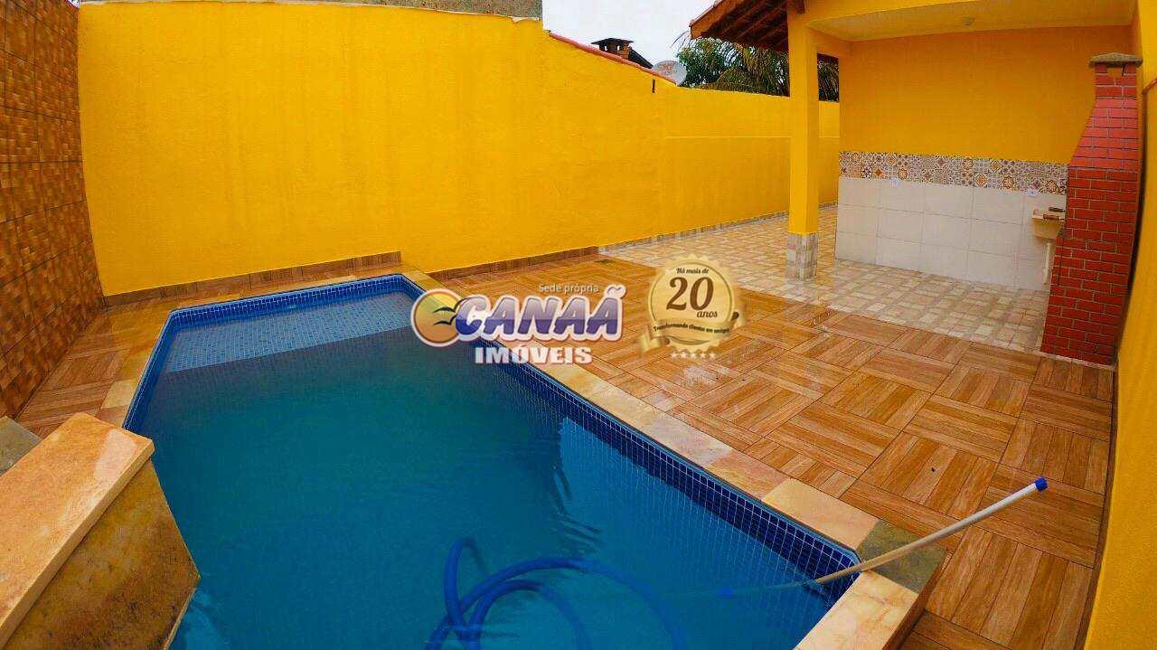 Casa com 2 dorms, Pedreira, Mongaguá - R$ 349 mil, Cod: 7390