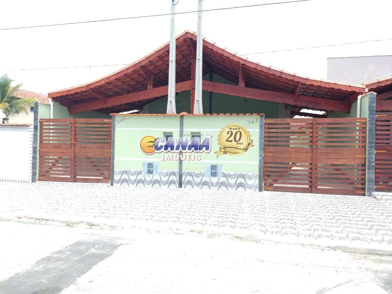 Casa com 2 dorms em Mongaguá - R$ 189.900,00 mil,