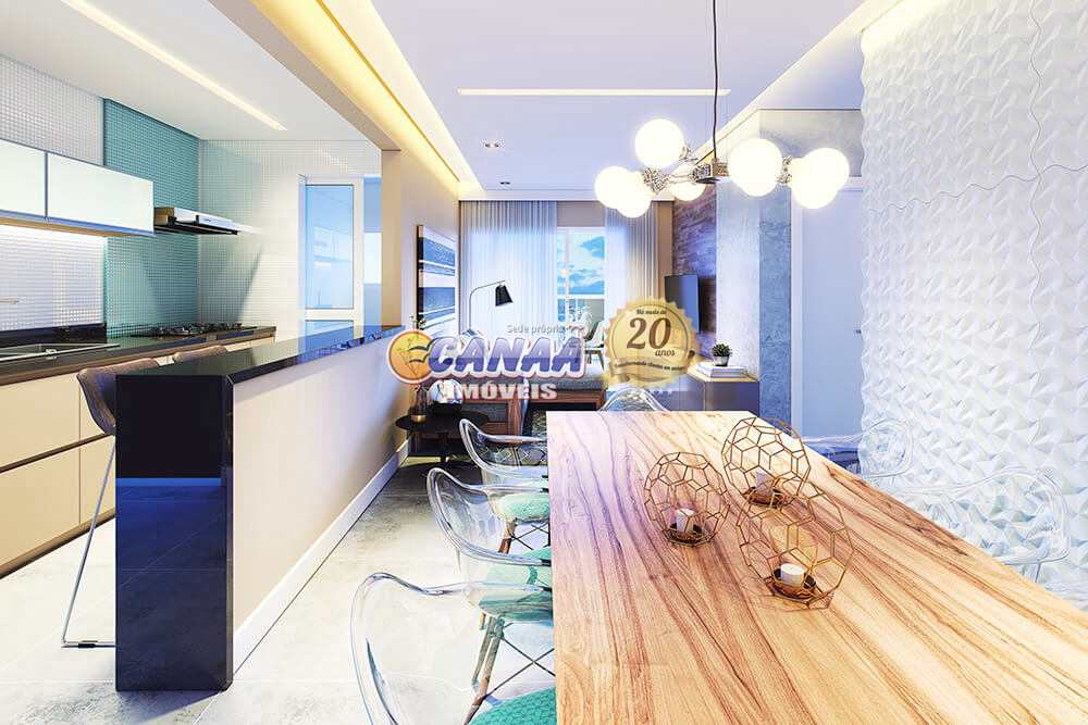 Apartamento com 2 dorms, Centro, Itanhaém - R$ 465 mil, Cod: 7406