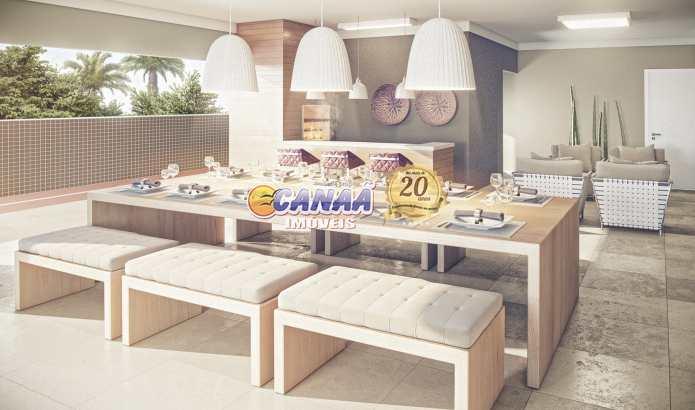 Apartamento com 2 dorms, Canto do Forte, Praia Grande - R$ 421 mil, Cod: 7498