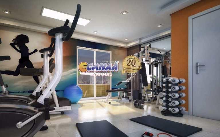 Apartamento com 2 dormitórios  Praia Grande R$ 450 mil Cod:7559