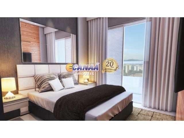 Flat com 1 dormitório na  Praia Grande  R$ 240 mil Cod: 7563