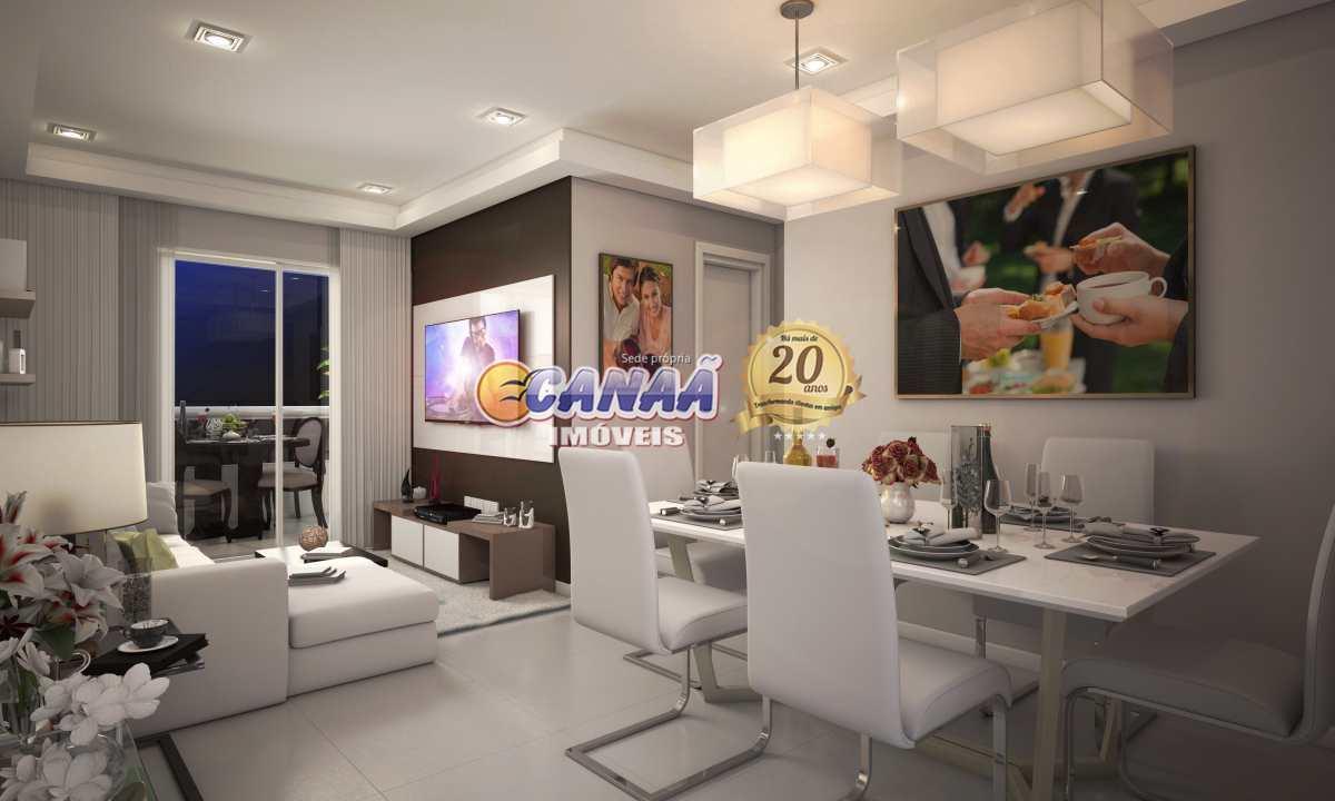 Apartamento com 2 dorms, Ocian, Praia Grande - R$ 372 mil, Cod: 7580