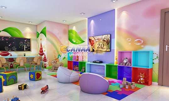 Apartamento com 2 dorms, Guilhermina, Praia Grande - R$ 284 mil, Cod: 7588