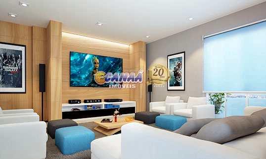 Apartamento com 2 dorms, Guilhermina, Praia Grande - R$ 226 mil, Cod: 7589