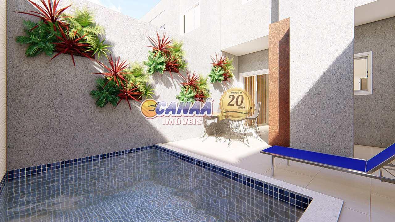 Casa de Condomínio com 2 dorms, Suarão, Itanhaém - R$ 279 mil, Cod: 7614