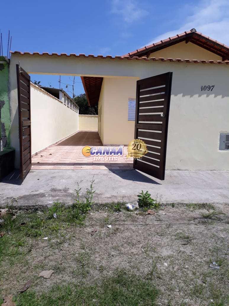 Casa com 2 dormitórios em  Itanhaém - R$ 160 mil, Cod: 7617