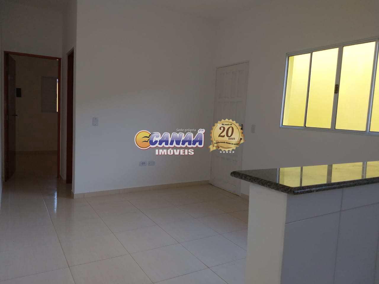 Casa na praia Mongaguá, aceita FGTS como entrada  Cod: 7664