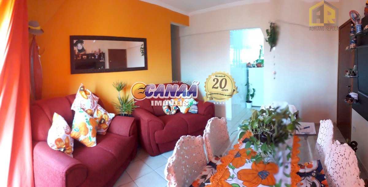 Apartamento com 3 dorms, Itaguaí, Mongaguá - R$ 400 mil, Cod: 7679