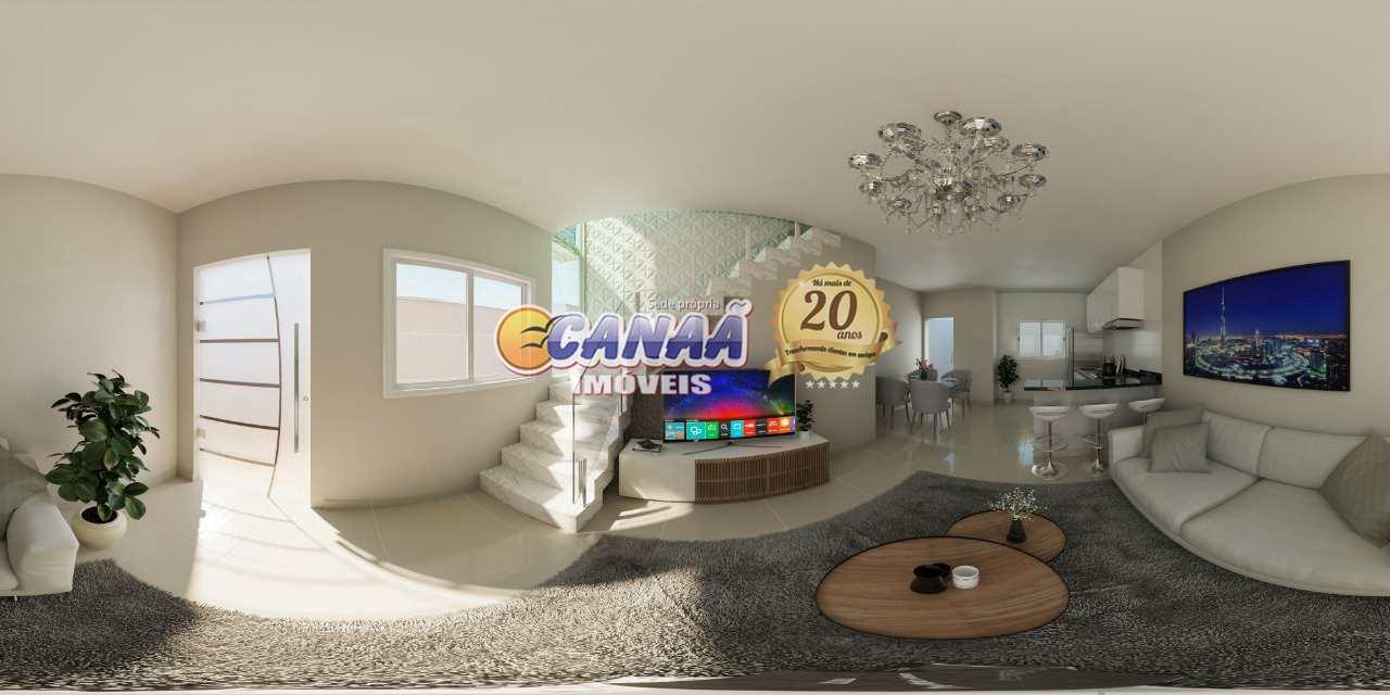 Sobrado de Condomínio com 2 dorms, Cibratel II, Itanhaém - R$ 270 mil, Cod: 7794
