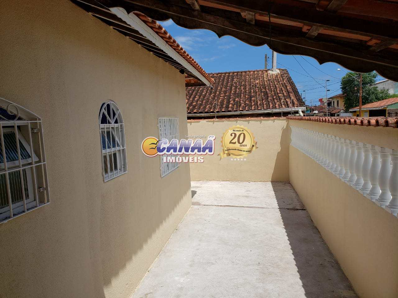 Casa com 2 dorms, Agenor de Campos, Mongaguá - R$ 180 mil, Cod: 7837