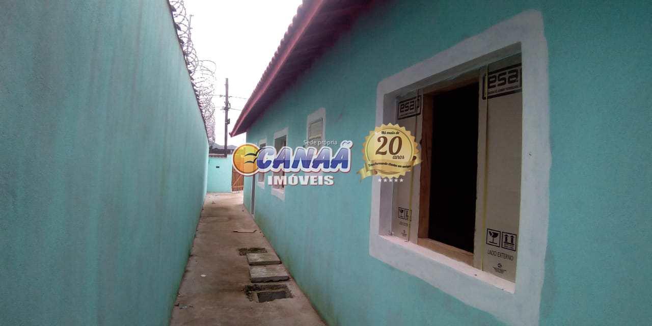 Casa com 2 dorms, Balneário Regina Maria, Mongaguá - R$ 201 mil, Cod: 7840