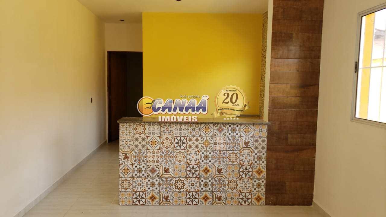 Casa com 2 dorms, Jardim das Palmeiras, Itanhaém - R$ 165 mil, Cod: 7964