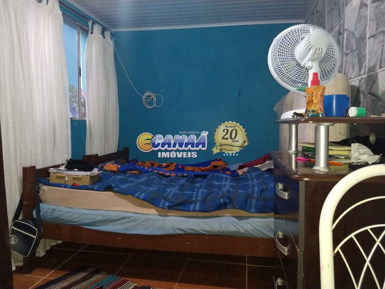 Casa com 3 dorms, Balneário Itaguai, Mongaguá - R$ 286 mil, Cod: 7993