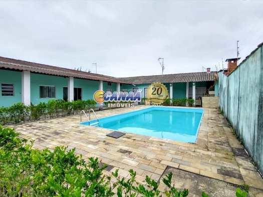 Casa com 3 dorms, Balneário Jussara, Mongaguá - R$ 270 mil, Cod: 8068