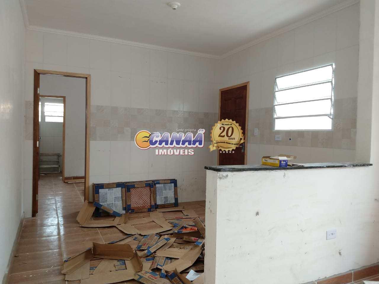 Casa com 2 dorms, Vila Atlântica, Mongaguá - R$ 259 mil, Cod: 7928