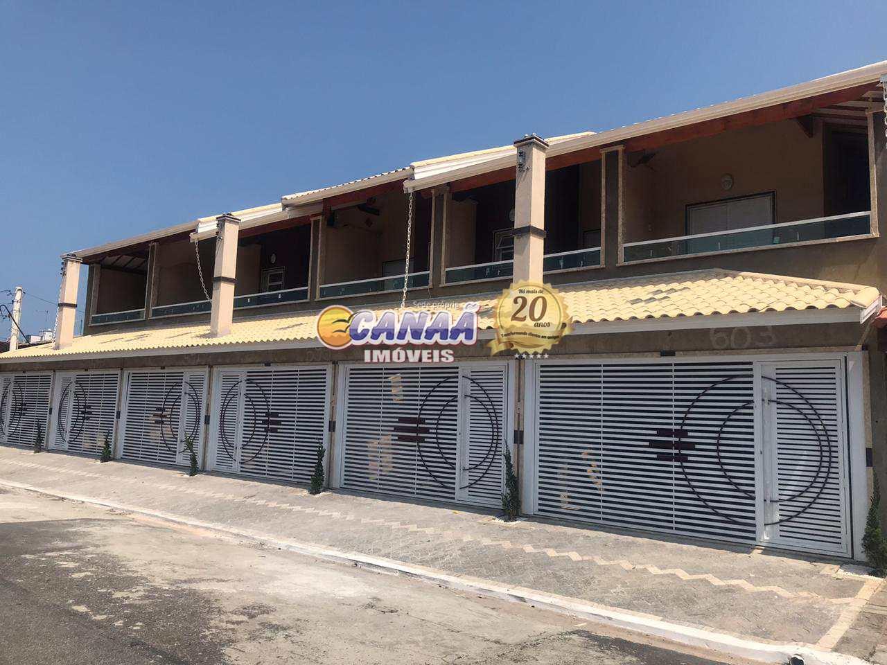 Sobrado com 2 dorms, Caiçara, Praia Grande - R$ 468 mil, Cod: 8152