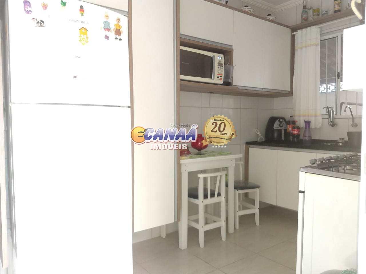 Casa com 2 dorms, Vila Oceanopolis, Mongaguá - R$ 320 mil, Cod: 8166