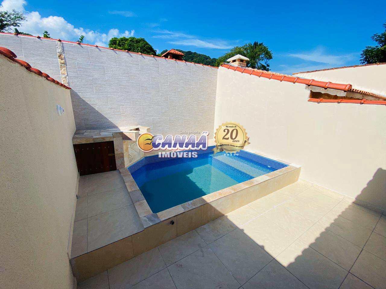 Casa lado praia com piscina Mongaguá .