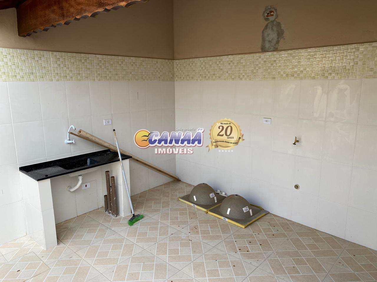 Casa com 2 dorms, Balneário Plataforma, Mongaguá - R$ 340 mil, Cod: 8196