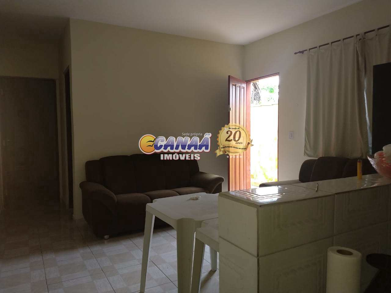Casa com 2 dorms, Itaguaí, Mongaguá - R$ 160 mil, Cod: 8279