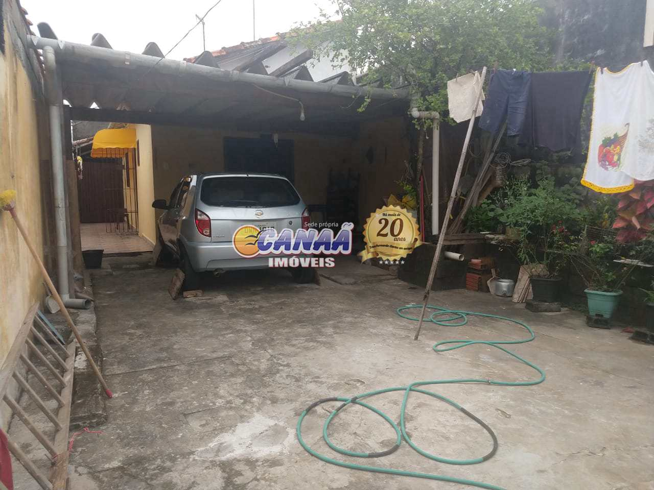 Casa com 2 dorms, Jussara, Mongaguá - R$ 180 mil, Cod: 8280