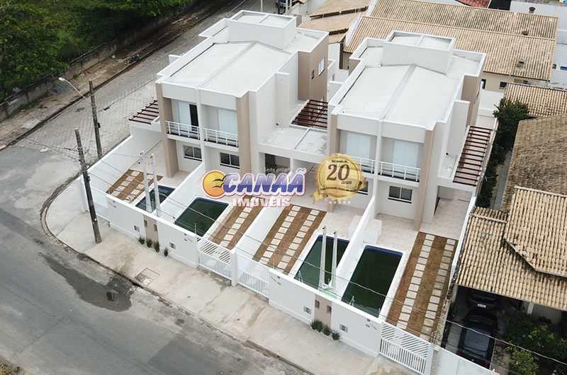Sobrado com 3 dorms, Balneário Tupy, Itanhaém - R$ 480 mil, Cod: 8336