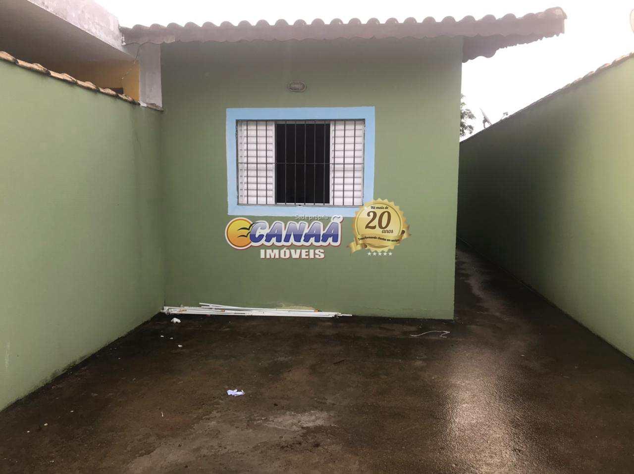 Casa com 2 dorms, Jussara, Mongaguá - R$ 170 mil, Cod: 8342