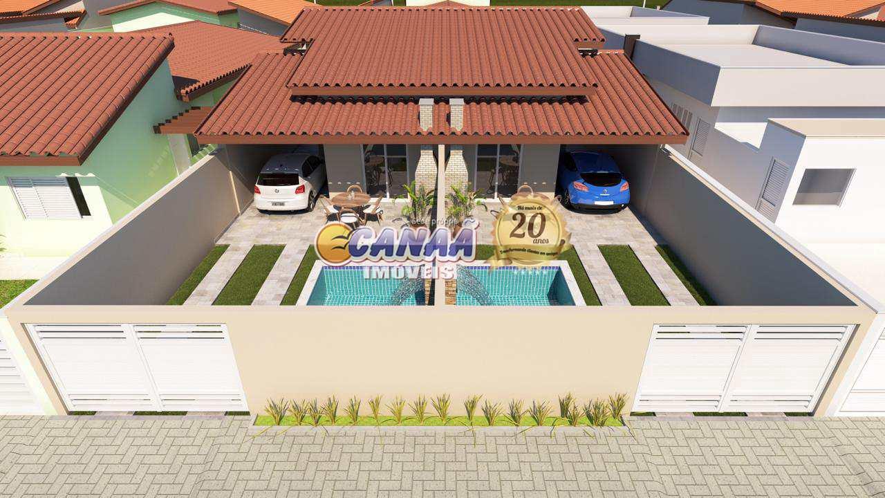 Casa com 2 dorms, Suarão, Itanhaém - R$ 299 mil, Cod: 8373