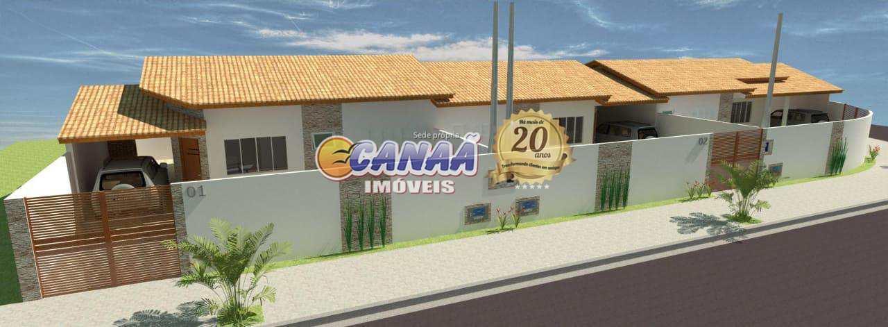 Casa com 2 dorms, cibratel 2, Itanhaém - R$ 305 mil, Cod: 8382