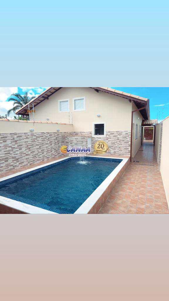 Casa com piscina Lado praia em Itanhaém Re.:8400