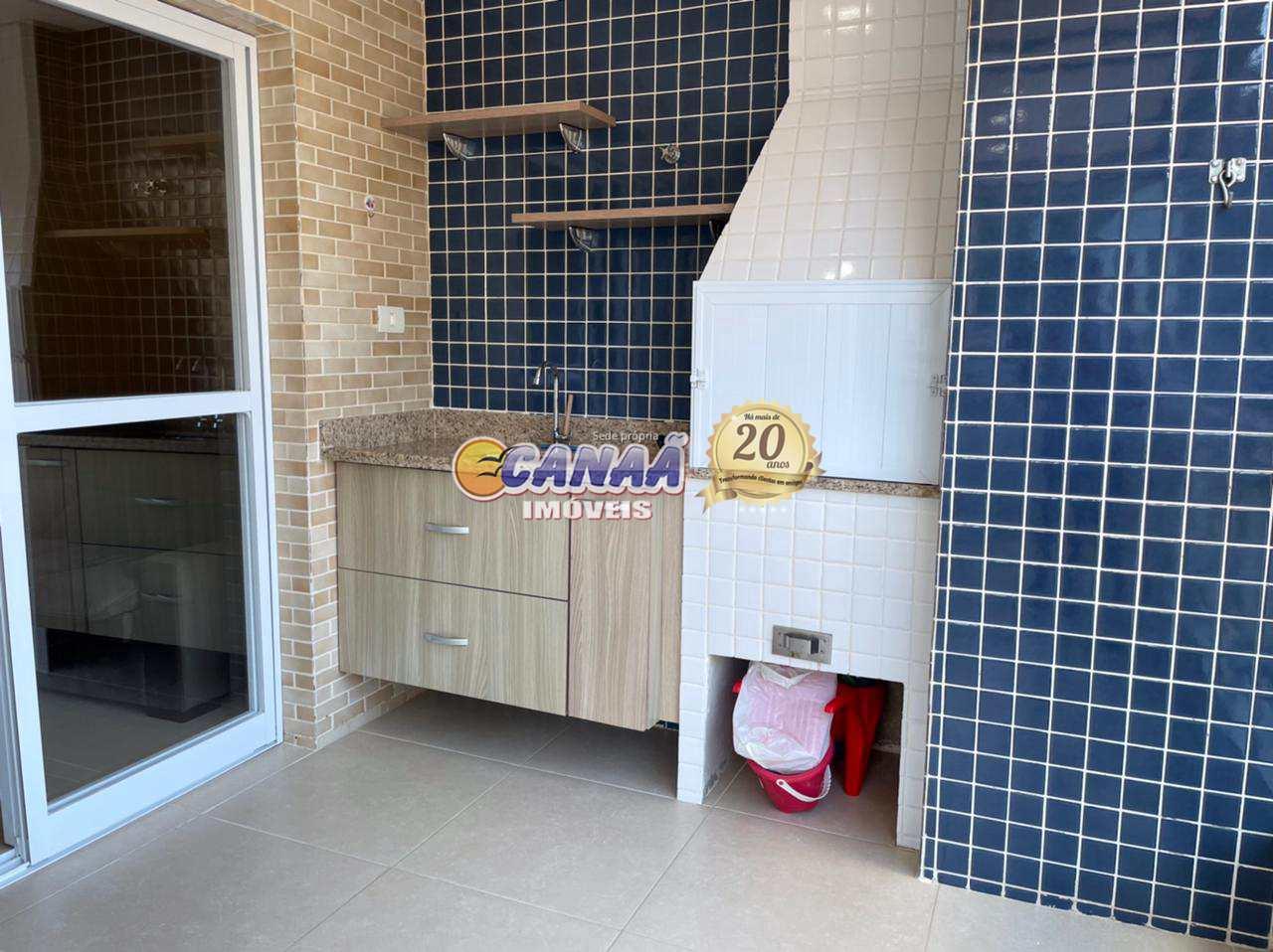 Apartamento com 2 dorms, Jardim Marina, Mongaguá - R$ 350 mil, Cod: 8407