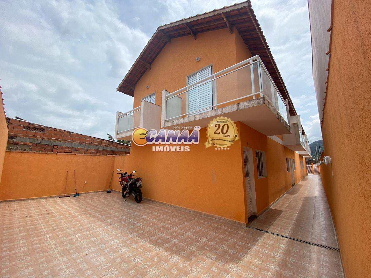 Casa de Condomínio com 2 dorms, Vila Atlântica, Mongaguá - R$ 189 mil, Cod: 8461
