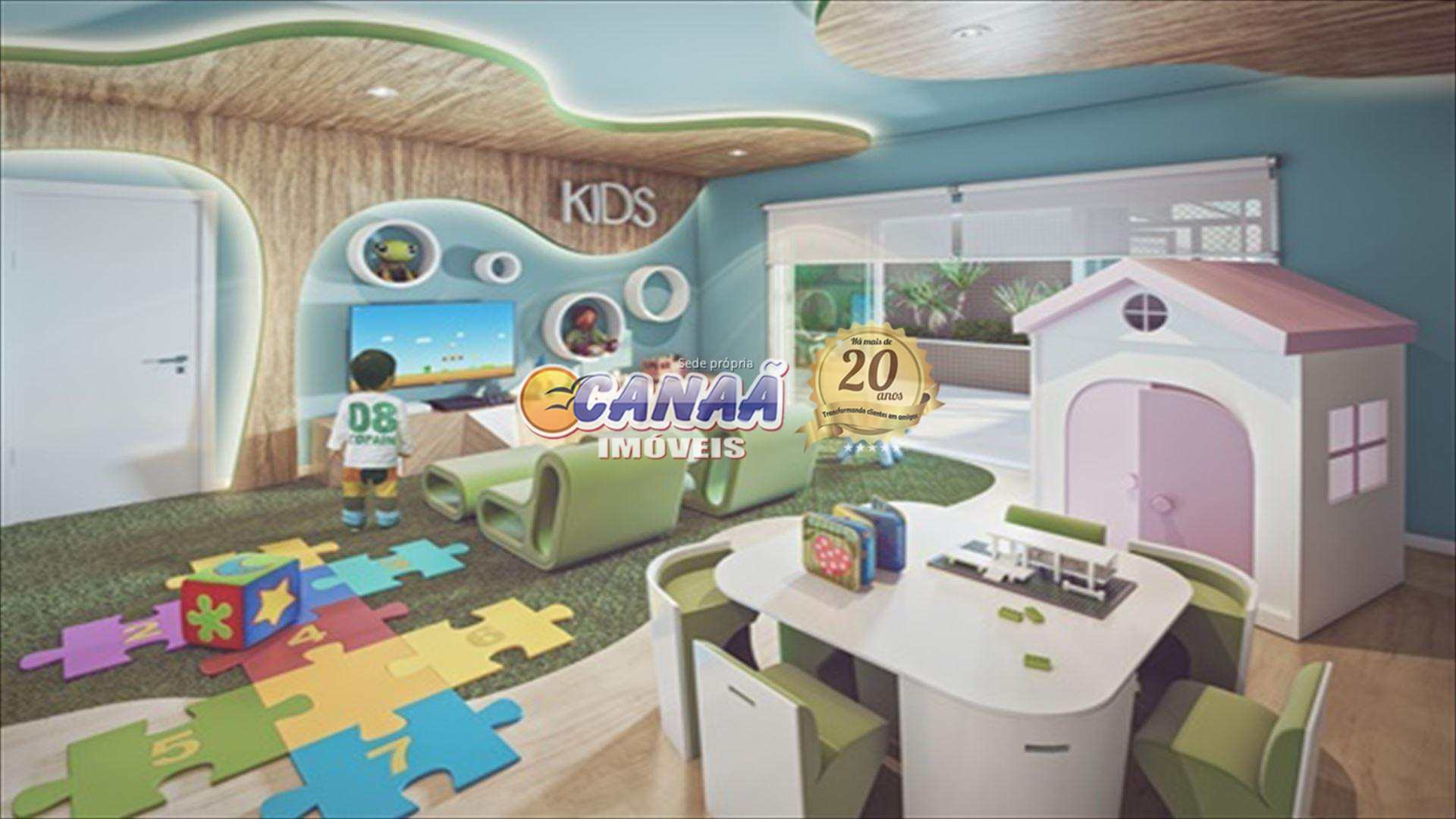 Apartamento com 2 dorms, Centro, Mongaguá - R$ 634 mil, Cod: 8515