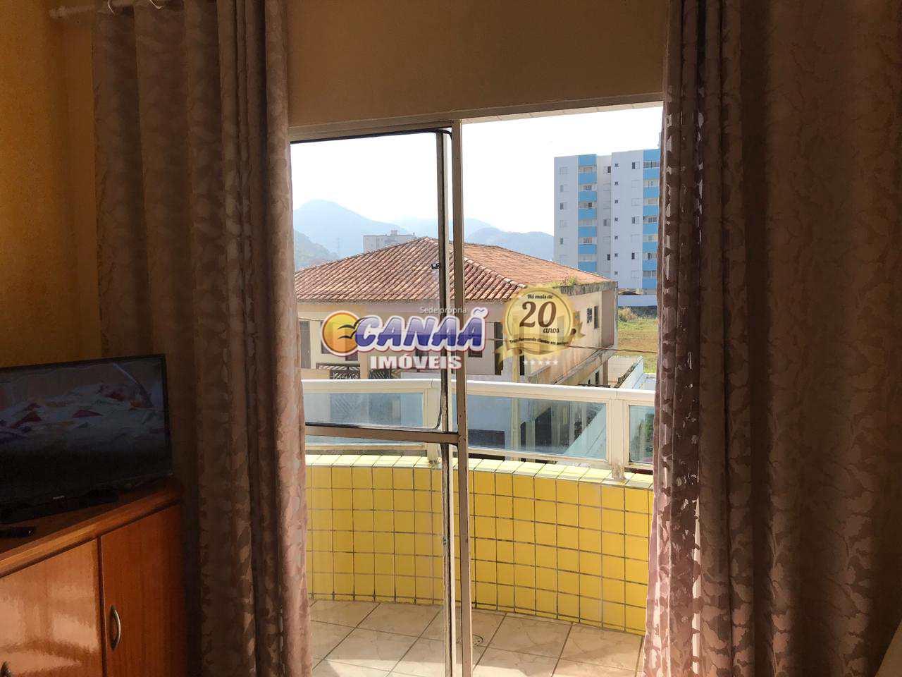 Apartamento em Mongaguá, 1 dormitório - R$ 245 mil, Cod: 8543