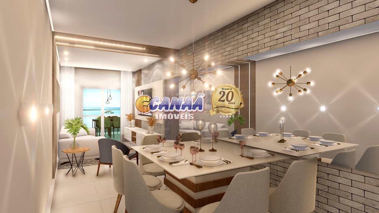 Apartamento com 2 dorms, Centro, Mongaguá - R$ 416 mil, Cod: 8548