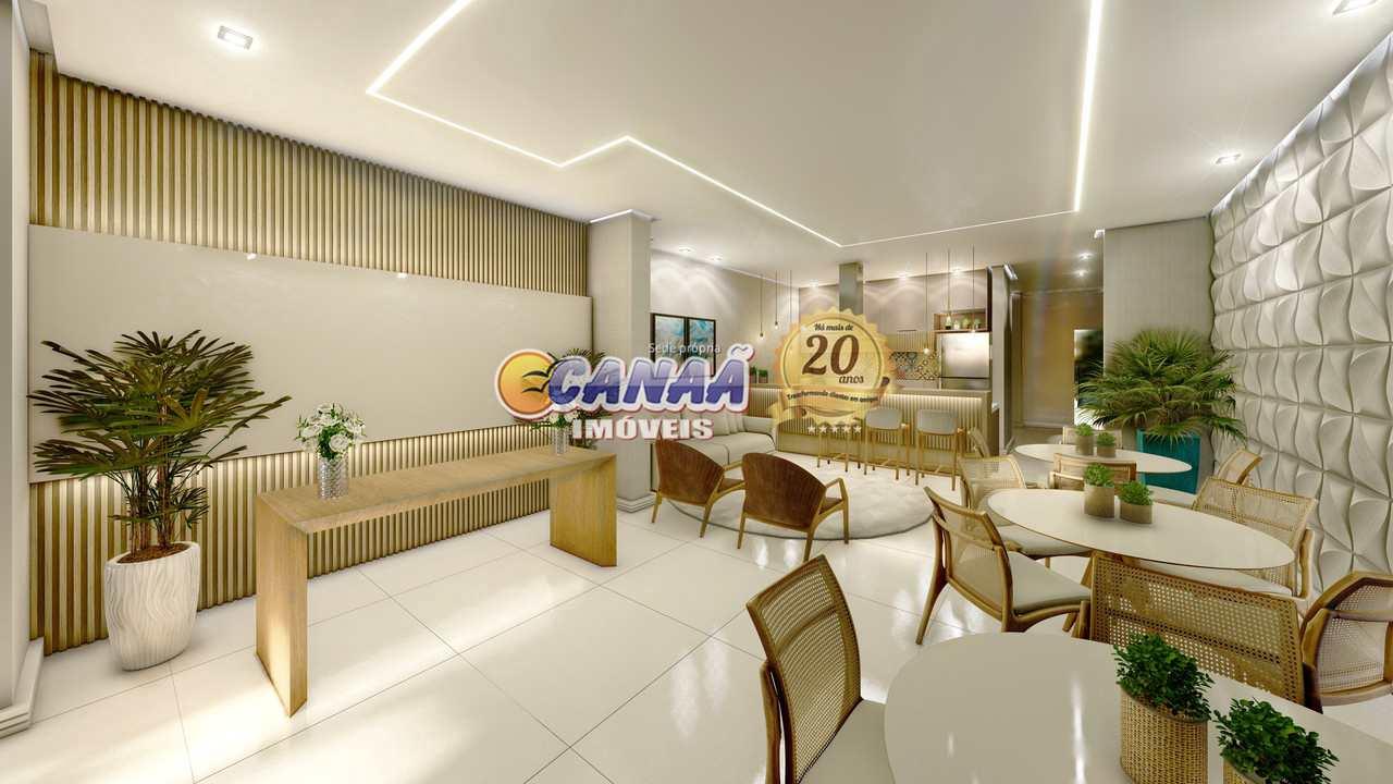 Apartamento com 3 dorms, Centro, Mongaguá - R$ 565 mil, Cod: 8550