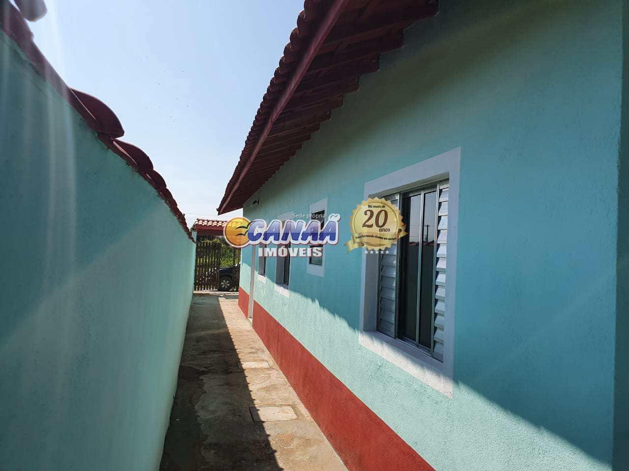 Casa com 2 dorms, Jardim Colúmbia, Mongaguá - R$ 169 mil, Cod: 8568