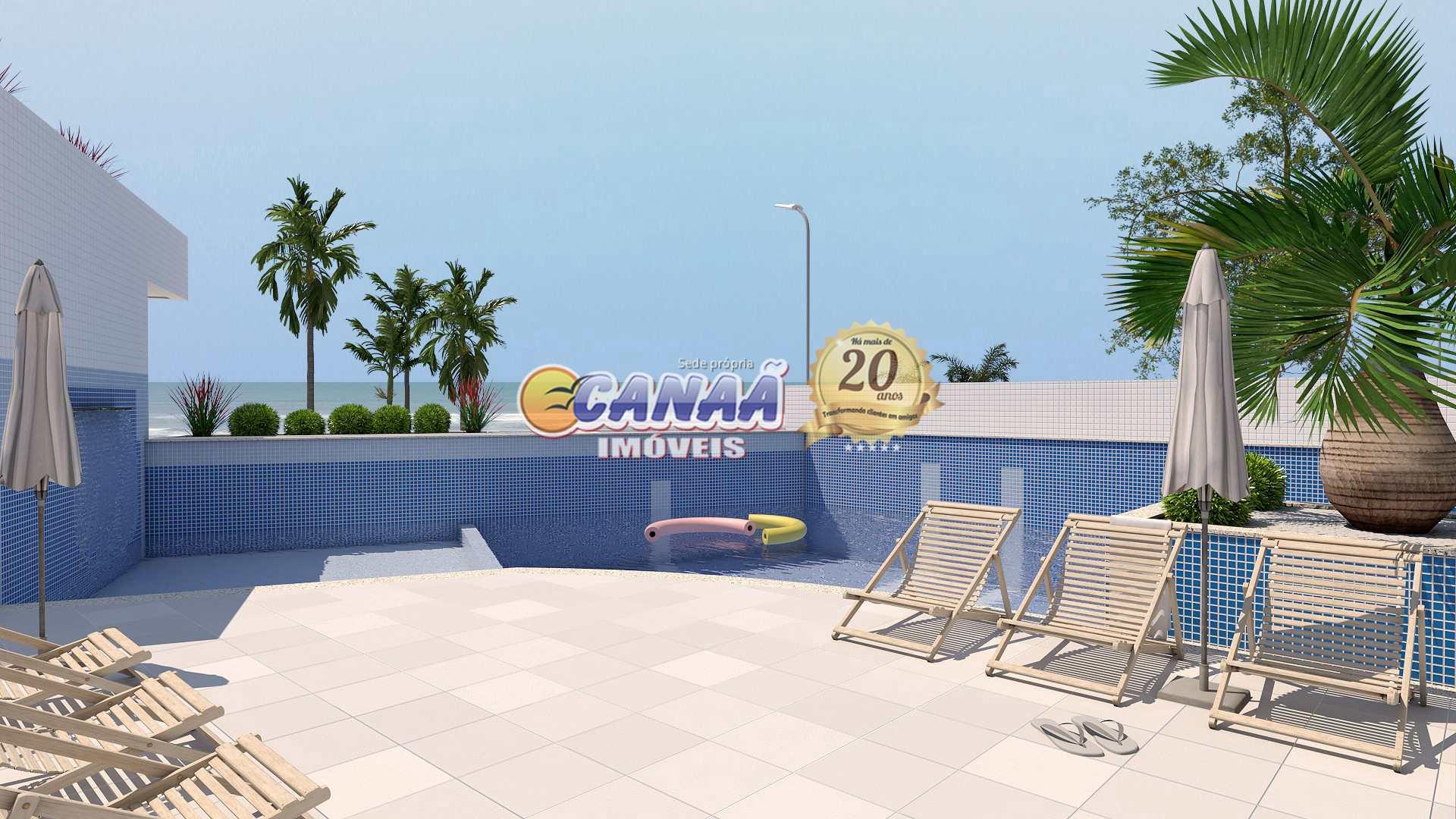 Apartamento com 2 dorms, Jardim Praia Grande, Mongaguá - R$ 270 mil, Cod: 8595