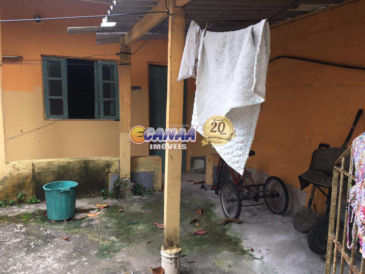 Casa com 2 dorms, Balneário Itaguai, Mongaguá - R$ 220 mil, Cod: 8601