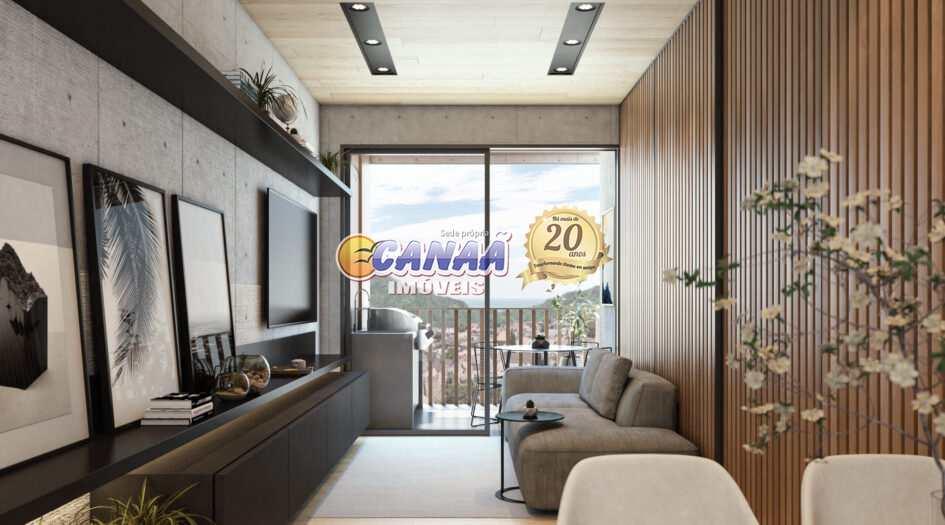 Apartamento com 2 dorms, Canto do Forte, Praia Grande - R$ 400 mil, Cod: 8726