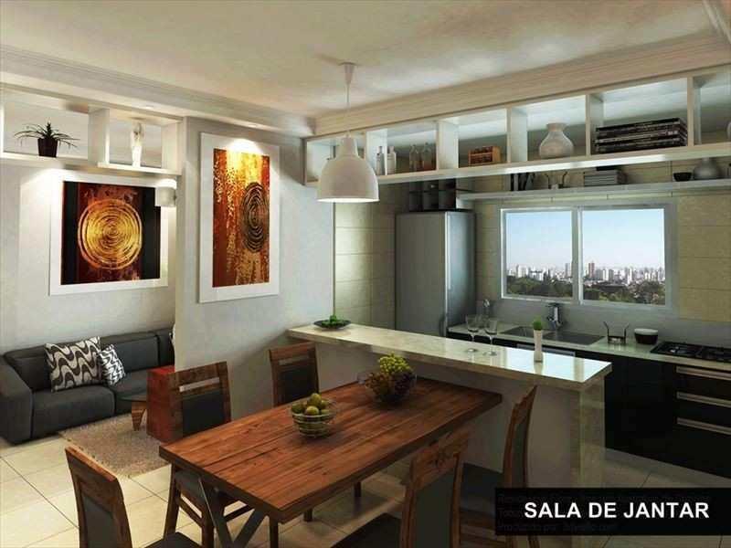 02-Apartamento com 1 dormitorio-em obra-canto do forte