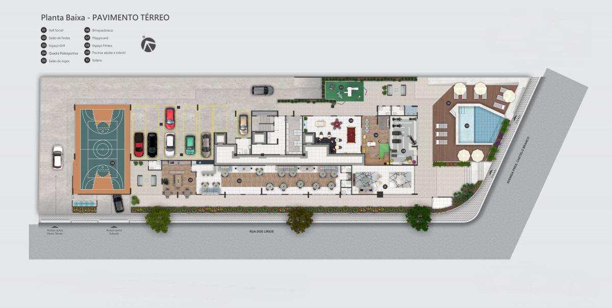 01 - Apartamento - construção - Flórida