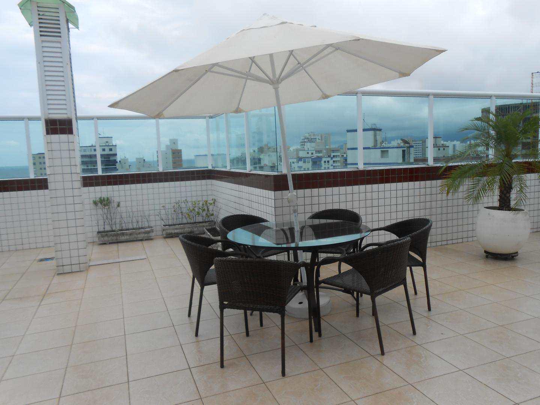 61-Cobertura- 03 dormitórios- Ocian- Praia Grande