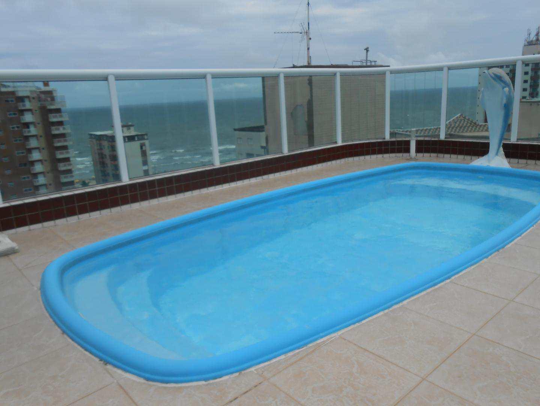 58-Cobertura- 03 dormitórios- Ocian- Praia Grande